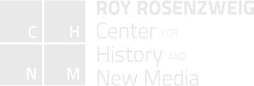Roy Rosenzweig Center for History & New Media