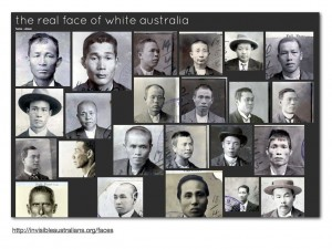 Faces from &quot;The Real Faces of White Australia&quot;