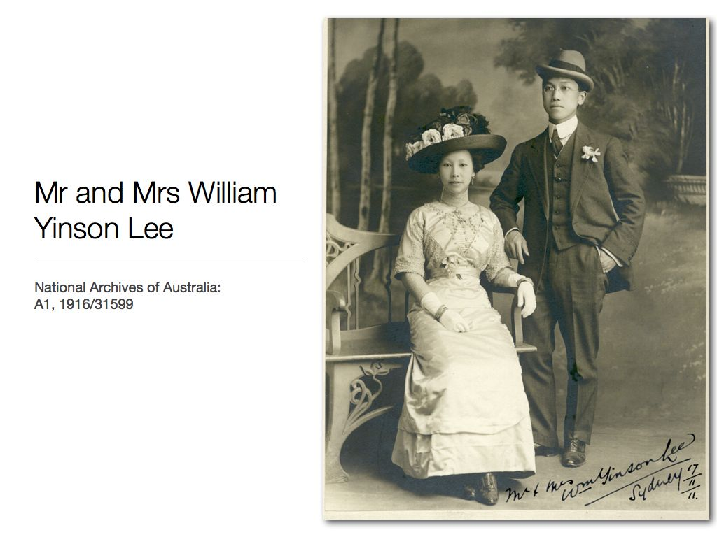 Portrait of Mr. and Mrs. William Yinson Lee