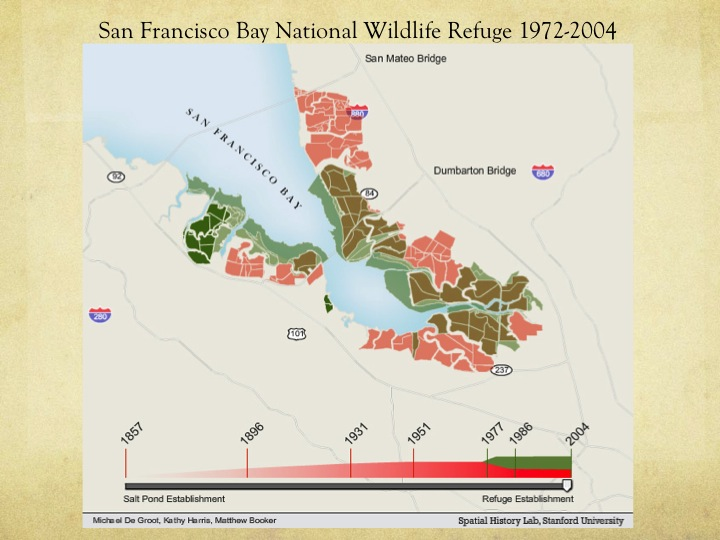 San Francisco Bay National Wildlife Refuge, 1972-2004