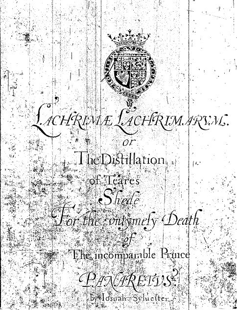 image of title page showing black text on white background