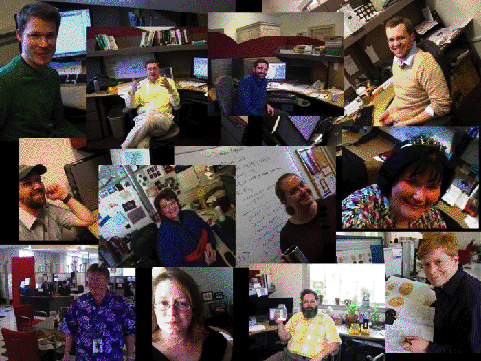 Collage of Scholar's Lab personnel