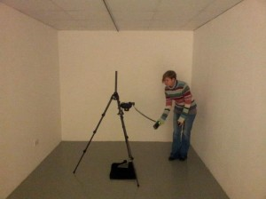 Figure 6: Recording art student artworks at WSA.