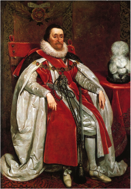 James I Portrait