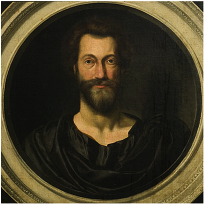 John Donne, Oil Painting