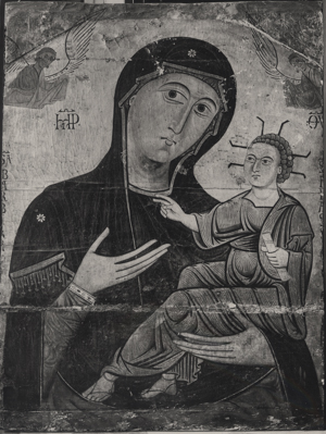 Madonna and Child, 13th century, La Chiesa di S. Eufrasia, Pisa.
