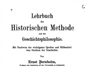 Bernheim, Lehrbuch, 1908, cropped from the Internet Archive copy